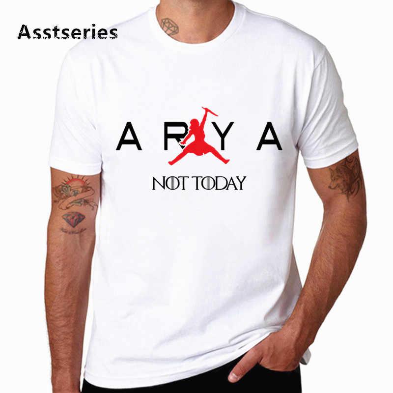 Dracarys hemd Game Of Thrones Marke Arya Stark Nicht Heute Unisex Erwachsene T-Shirt T shirt Camisetas hombre T-shirt HCP4575