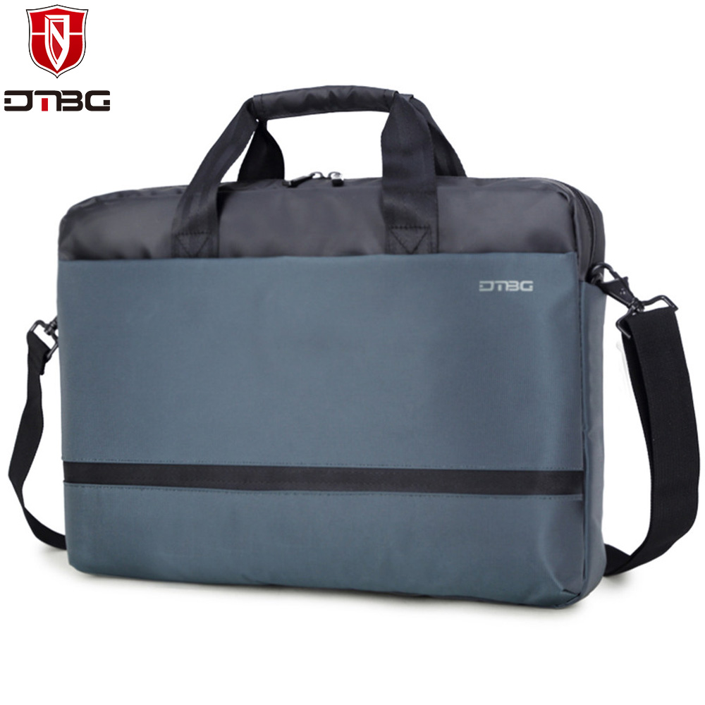 DTBG Laptop Bag 15 15.6 Inch Computer Handbag for Men Women's Notebook Briefcase for Apple Macbook iPad Portable Shoulder Bags