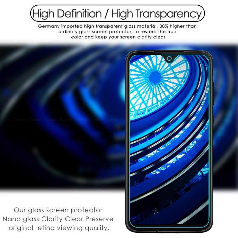 スクリーンプロテクター強化ガラスモトローラモト 1 アクションビジョン電源ハイパーズーム G8 G7 G6 G5S E6s E6 E5 e4 プラス再生