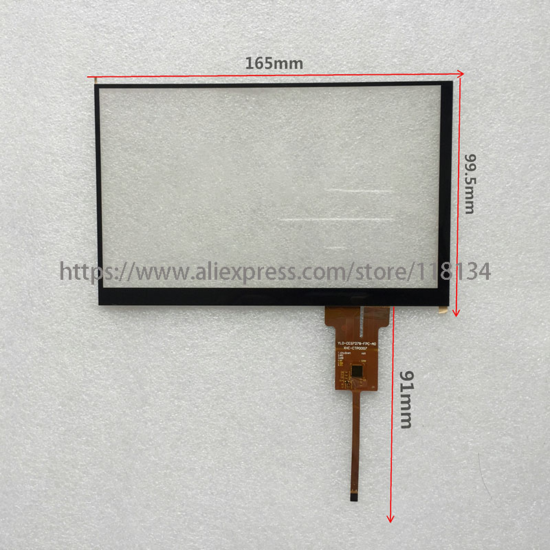 YLD-CEG7278-FPC-A0 Capacitive Touch Screen XHC-CTP0007 Touch Panel