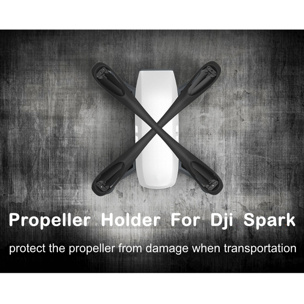 Clip hélice estabilizadores para DJI chispa Blade Motor titular retenedor fijo protección protector hélices fijador Drone Accesorios