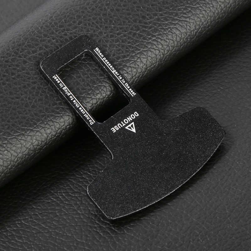 Universale Seggiolino Auto Cintura di Sicurezza di Allarme Morsetto Della Clip Auto Cintura di Sicurezza Fibbie Fermacorda e ganci Accessori per Interni Auto Cintura di Sicurezza di Chiusura del Coperchio