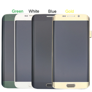 Image 5 - For Samsung Galaxy S6 Edge LCD G925 G925F SM G925F LCD Display Touch Screen Assembly With Frame For Samsung S6 Edge LCD
