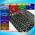 30cm/pcs 12led SMD 5050 Flexible Waterproof 12V Car Daytime Light Led Strip,10pcs/lot