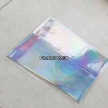 Лазерный Серебряный 50 шт./лот 20x29 см горячего тиснения фольги бумага для жесткой коробки и пластиковый материал