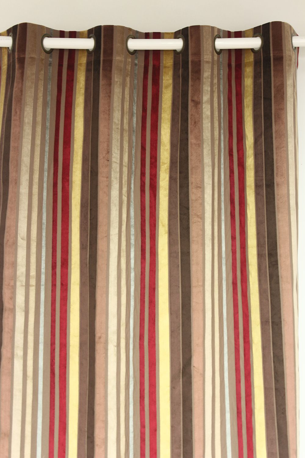 Aliexpress.com : Buy VEZO HOME Multi Burgundy Stripes Velvet Window  Treatment Curtains Panel Door Bedroom Living Room Home Decorative Curtain 5  Sizes From ... Part 46