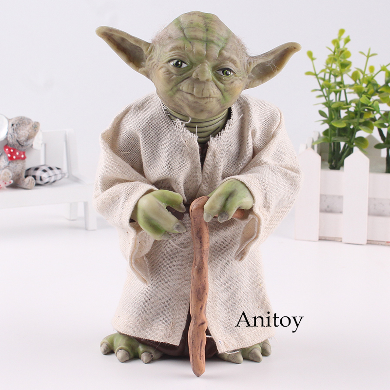 Star Wars Figure Yoda Action Figure PVC Collectible Model Toy Gift 18cm neca marvel legends venom pvc action figure collectible model toy 7 18cm kt3137