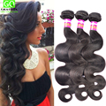 Braziliian Body Wave Virgin Hair 3Pcs Lot Human Hair Weave Wet And Wavy Virgin Brazilian Hair Unprocesed Brailian Virgin Hair