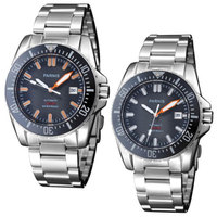 Parnis Automatic Diver Watch Waterproof 200m Metal Mechanical Watches Black Dial Sapphire Glass Best Cheap Sale