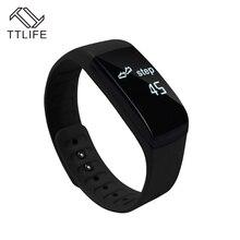Fttlife сердечного ритма Смарт Bluetooth браслет Активный монитор Спорт Смарт часы Шагомер умный браслет часы