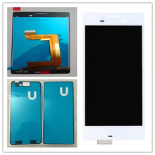 For Sony Xperia M4 aqua LCD Display Touch Screen Digitizer Assembly black or white +glue