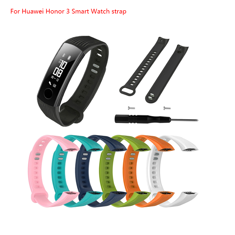 Bracelet Replacement Smart-Watch-Band Huawei High-Quality Wrist Soft-Strap Honor Bandfor