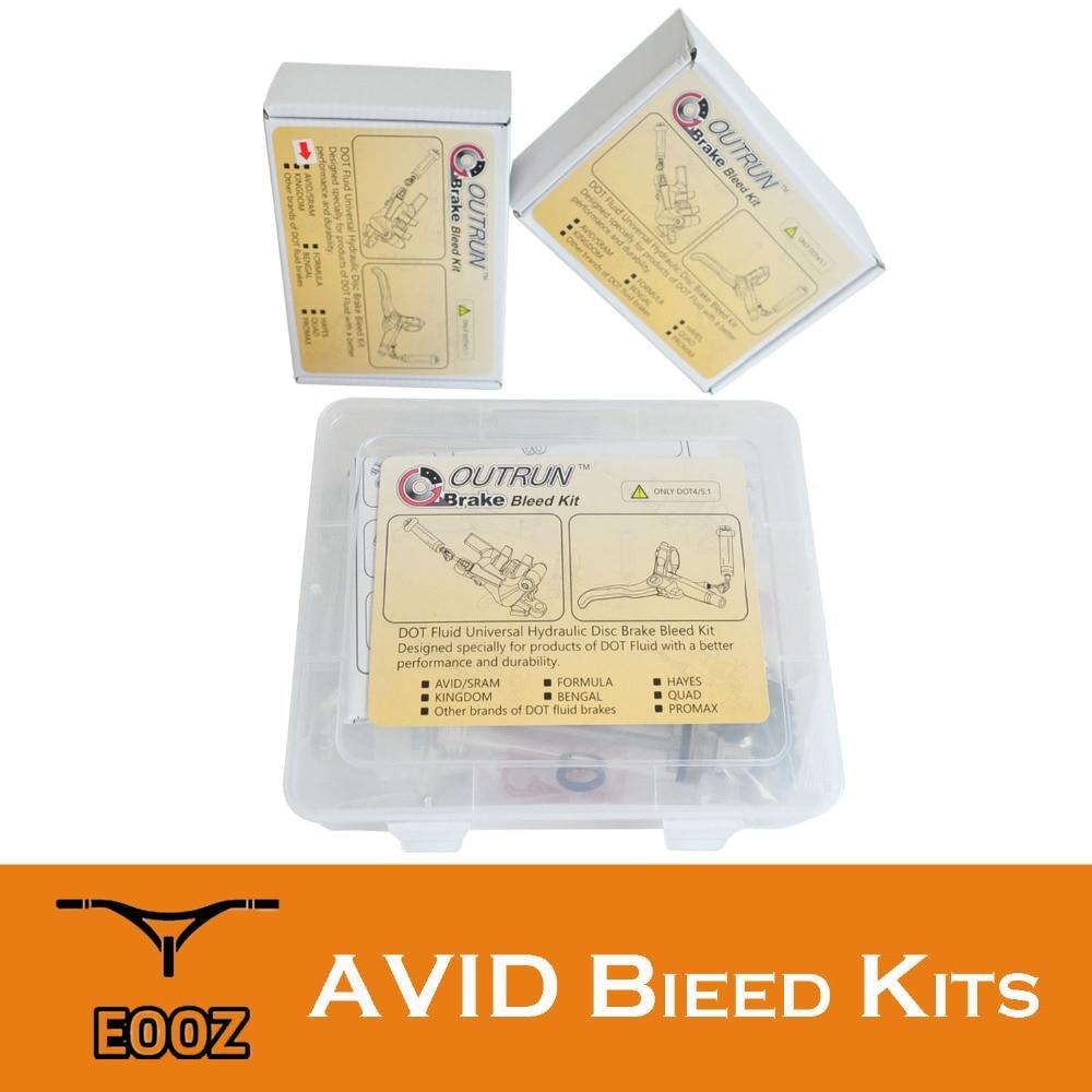 Bike Hydraulic Disc Brake Bleed Kit Tool for AVID Formula DODE HAYES ELIXIR Sram