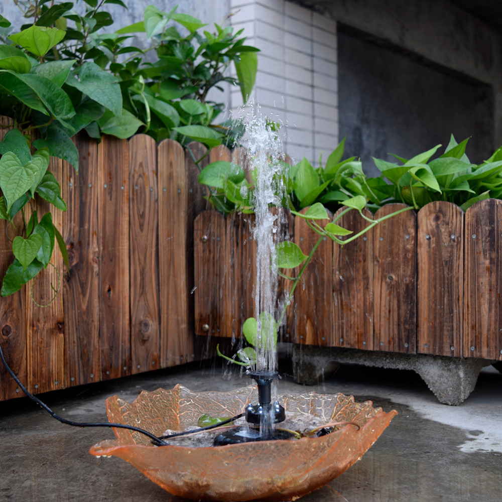 Hohe Qualität Sp025 Modern Design Home Garten Dekoration Mini Solarbetriebene Panel Brunnen Pool Garten Bewässerung Pumpe Heimwerker