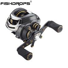 Fishdrops LB200 Baitcasting Reel 18 Ball Bearings Memancing Memancing Tangan Kiri Tangan Kanan Umpan Casting