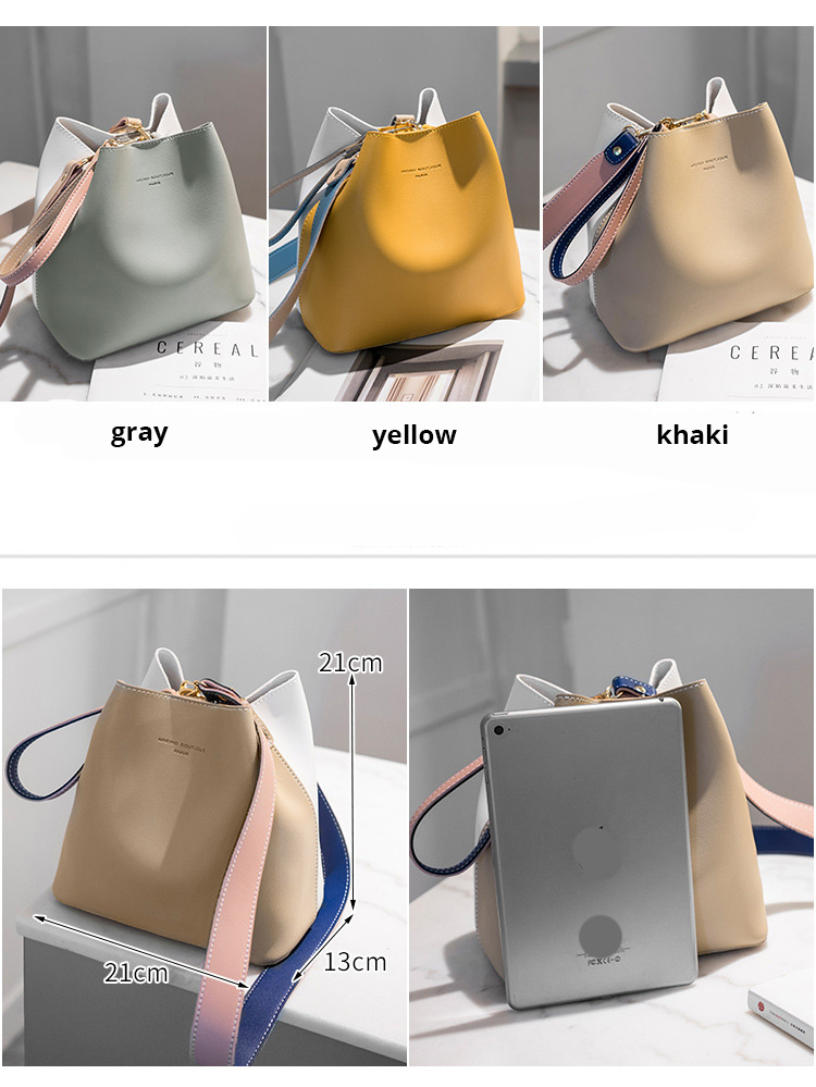 HTB1b57ZSNnaK1RjSZFBq6AW7VXa8 - Fashion Women Bag Summer Bucket Bag Women PU Leather Shoulder Bags   Ladies Crossbody Messenger Bags Totes Sac