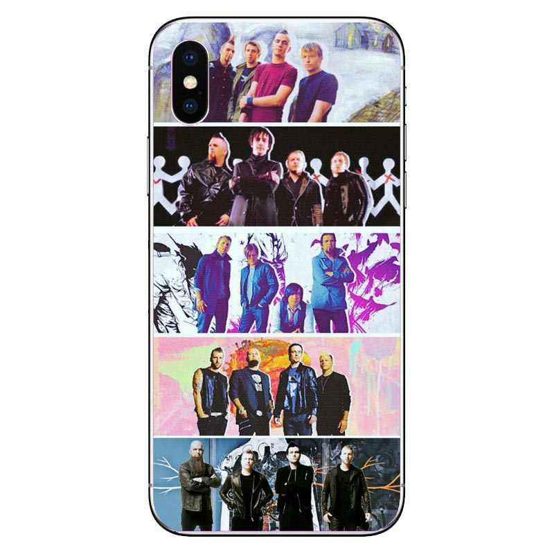 Three Days Grace silicone TPU Soft phone Case for iPhone XS Max XR X 8 8Plus 7 7Plus 6 6S Plus 5s se Animal I Have Become Coque