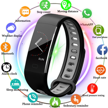 LIGE Smart Wristband Heart rate Blood Pressure Oxygen Oximeter Sport Bracelet Waterproof Watches intelligent For IOS Android+box