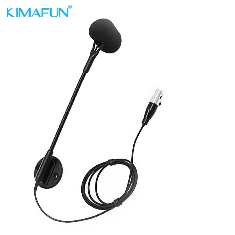 KIMAFUM Mini Wireless Microphone Professional Musical Instrument Condenser High Fidelity Voice Microphone for Accordion musical fidelity m1pwr black