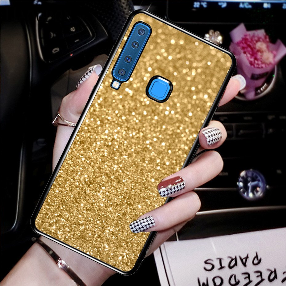 Glitter Cover Case For Samsung Galaxy S10 E S9 S8 J3 J5 J7 A3 A5 2017 2016 J2 J4 J6 Plus J8 A8 A6 A7 A9 2018 Grand Prime