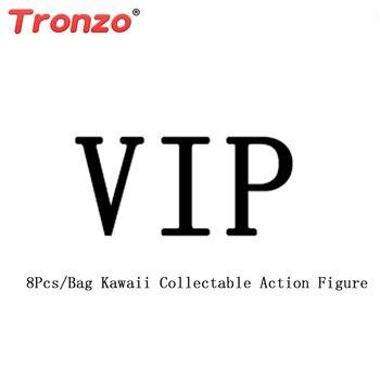Tronzo 8 шт./пакет Kawaii Игрушки для маленьких девочек Рождественский подарок дропшиппинг