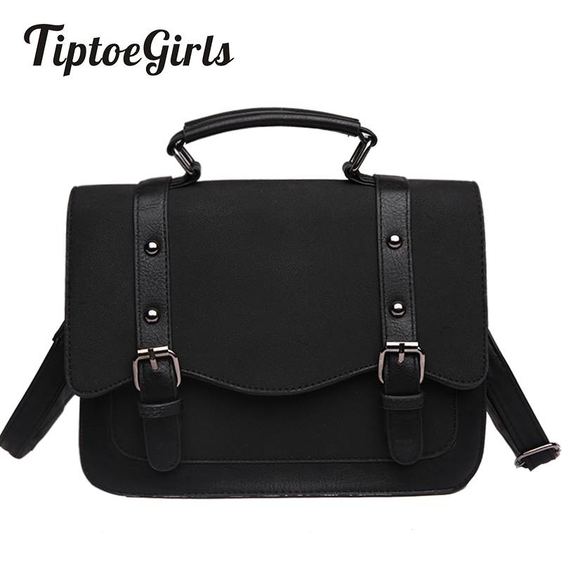 New Autumn and Winter Retro Bag Female Korean Fashion Wild Shoulder Messenger Bag Simple Casual Small Square Package Tide 2018 new female korean version of the bag with a small square package side buckle shoulder messenger bag packet tide