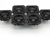 3pair 6 Pcs Peerless P830986 3inch Aluminun Cone NEO Magnet Fullrange Speaker Free Shipping
