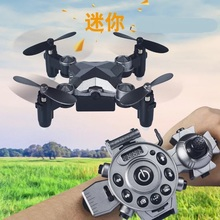 2019 New Mini Foldable Watch Drone Control 8MP HD RC Helicopter Quadcopter Drone Headless Mode RC Toys Tiny Gifts VS JJRC H36 mini drone rc quadcopter nano drones remote control helicopter toys 2 4ghz one key return children gift dwi d1 vs jjrc h36