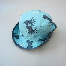 Baby Daily Bucket Hat Blue Latest Brand Crochet Kids Summer Hats Children Fashion Sun Caps Boy Girls Spring Summer Accessories