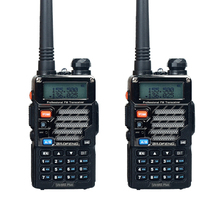 2PCS  Baofeng UV-5RE Plus Walkie Talkie Dual Band Two Way Radio FM VOX Dual Display radio comunicador 5W 128CH UHF VHF