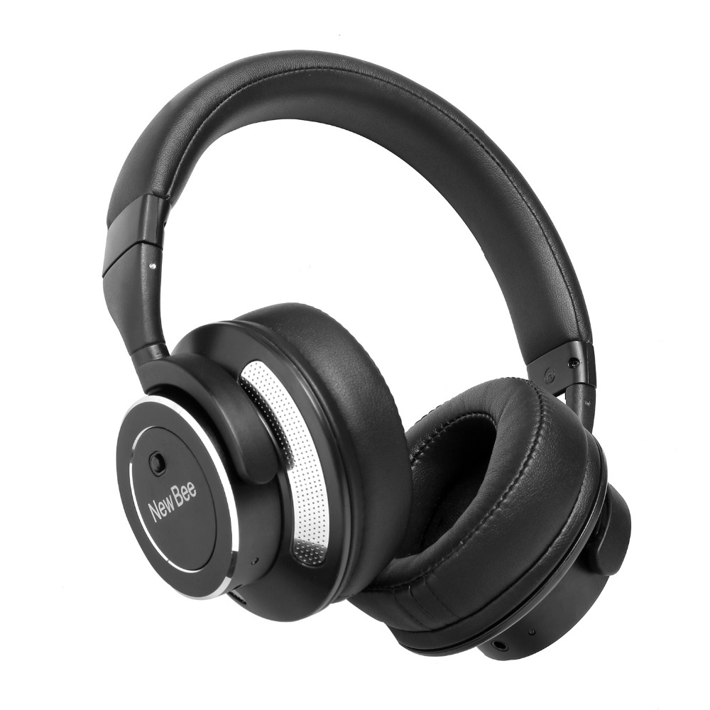 New Bee NB88 Noise Cancelling Music Headphone Adjustable Wireless Bluetooth Headband Headset with Mic Answer Call fone de ouvido sweet seduction