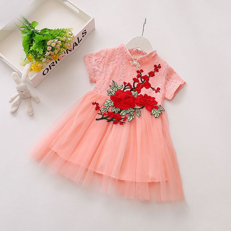 Infant Baby Girl Flower Summer Princess Dress 1 Year Birthday Party ...