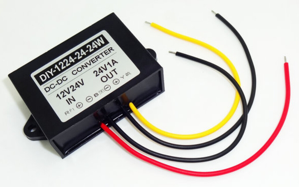 Converter DC 12V 24V Turn 24V 1A Power Supply DC DC 24V Turn 24V 1A 24W Automatically Boost Buck Power Module Voltage Regulator спортинвентарь nike чехол для смартфона на руку nike printed lean arm band n rn 68 439 os