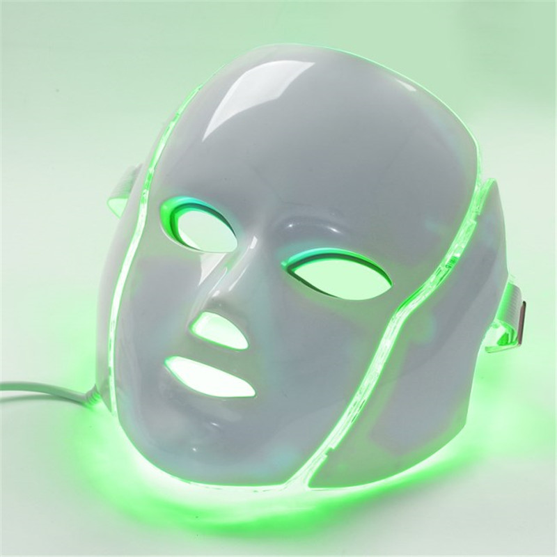 LED light mask home use cosmetology therapy device (6)_