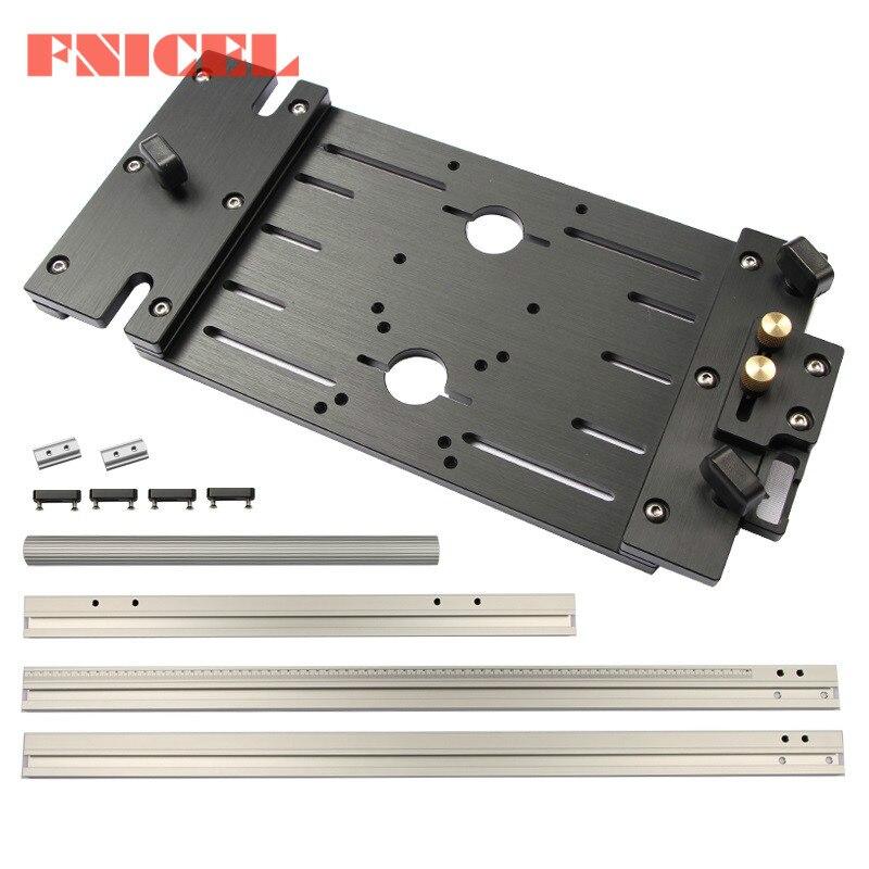 Machine Panel Trimming Guide Rail Saw Electric Cutting Marble Circular Cutter Circular Woodworking For Saw Machine