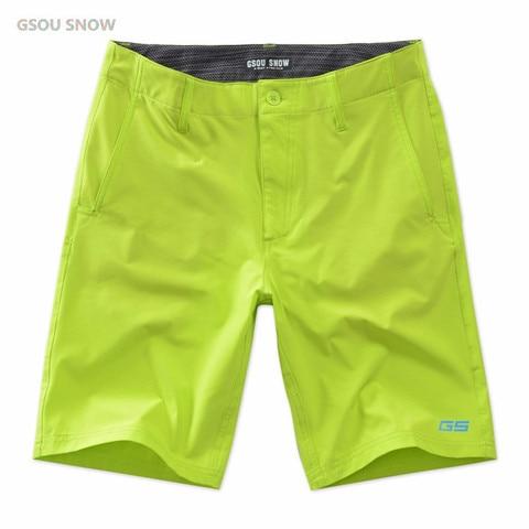 Marca de Verão Shorts da Praia dos Homens de Alta Qualidade de Secagem Roupa de Banho Gsou Neve Rápida Boardshorts Homens Fitness Jogger Ginásio Moletom