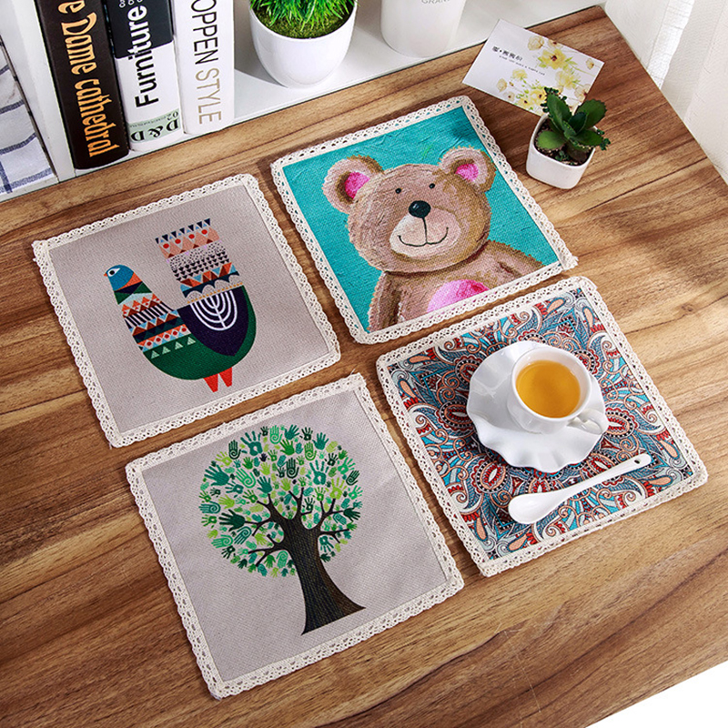 1pc Creative Placemat Dining Table Mat Amp Pads Coasters