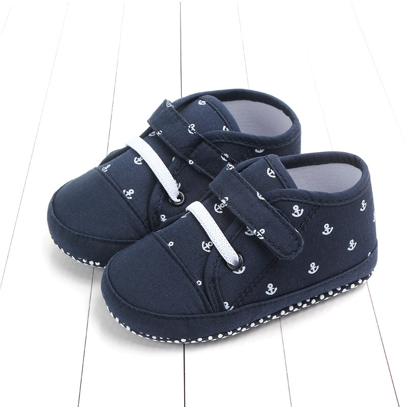 Facaily Newborn Baby Girl Shoes First Walkers Soft Soled Slipper Shoes Cradle PU Leather Walking Prewalkers