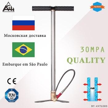 Pompe à main 30Mpa 4500psi 300Bar 3 étages   Fusil à Air haute pression, Paintball de plongée avec filtre, Mini compresseur et pompe de colline