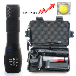 Litwod Flashlight Torch-Lamp Hunting Aluminum 6000LM Cree xm-L2 Zoom Led Waterproof Camping