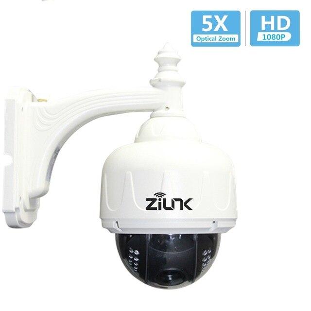 Caméra IP dôme haute vitesse ZILNK HD 1080 P extérieure PTZ 2.7-13.5mm Auto-focus étanche CCTV sécurité Wifi caméra sans fil Onvif