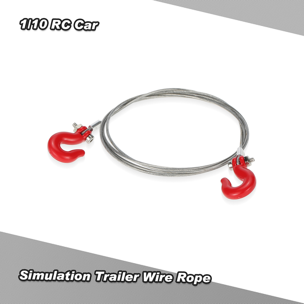 trailer wiring accessories promotion shop for promotional trailer high quality simulation trailer wire rope for 1 10 d90 axial scx10 rc car
