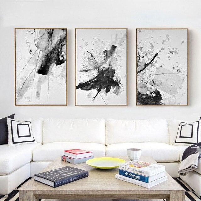 Haochu Chinois Style Dcoratif Peinture Aquarelle Abstraite Moderne