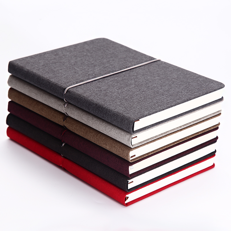 2017 A5 Notebook Note Book Business Hand Books Thick Cloth Creative Diary Office Agenda Journal Planner Stationery