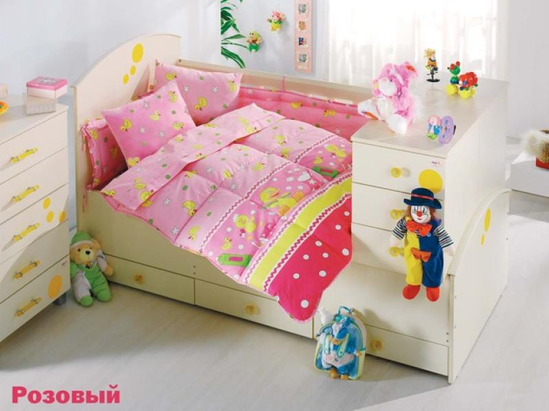 Bedding Set for baby ALTINBASAK, VAK VAK bedding set for baby altinbasak puffy cream