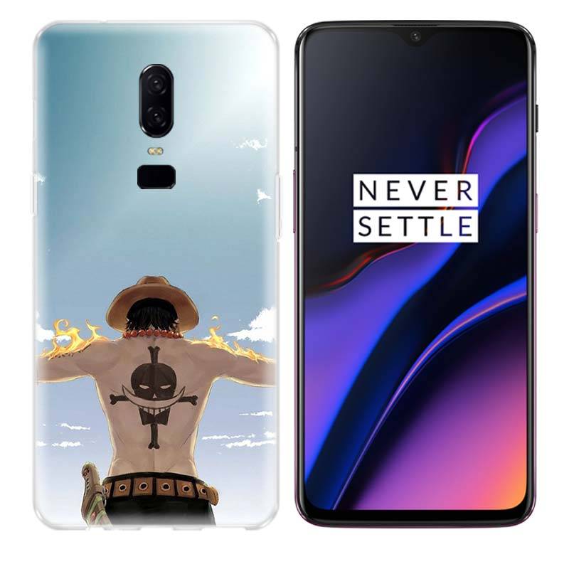One Piece Anime Durable Phone Back Case for OnePlus 7 Pro 6 6T 5 5T 3 3T 7 Pro Art Gift Patterned Customized Cover Coque Capa in Half wrapped Cases from Cellphones Telecommunications