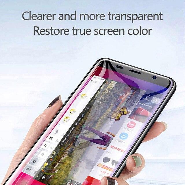 Película de hidrogel Protector de pantalla para Samsung Galaxy S9 S8 Plus S7 S6 Edge Plus película protectora para Samsung Note 9 8 10 Pro Film