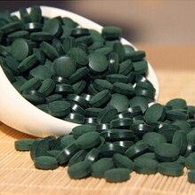 500 г/лот Анти-усталость анти-радиация повышение-иммунный натуральный Спирулина чай таблетки здоровье еда 2000 таблетки одобрено качество