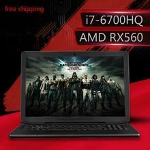 ENZ Gaming laptops 15.6″ IPS FHD 1920*1080 PC Tablets AMD RX560 Intel Core i7 6700HQ Notebook 4GB RAM 32GB SSD