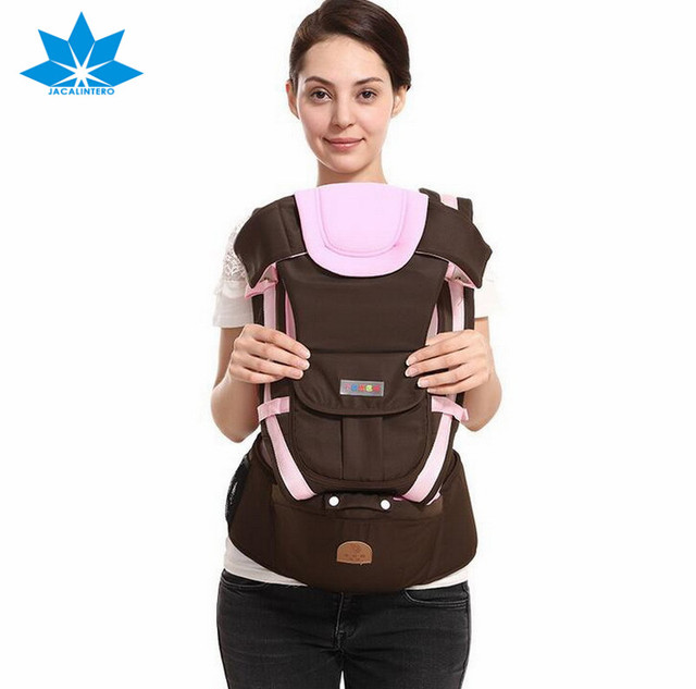 Breathable Baby Carrier Infant Toddler Backpack Side Front Carry